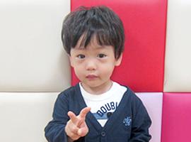 S君(2歳)  2014年入園
