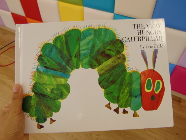 はらぺこあおむし制作☆The very hungry caterpillar craft